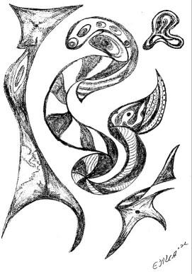 Dibujos de abstractos imagui for Imagenes de cuadros abstractos faciles
